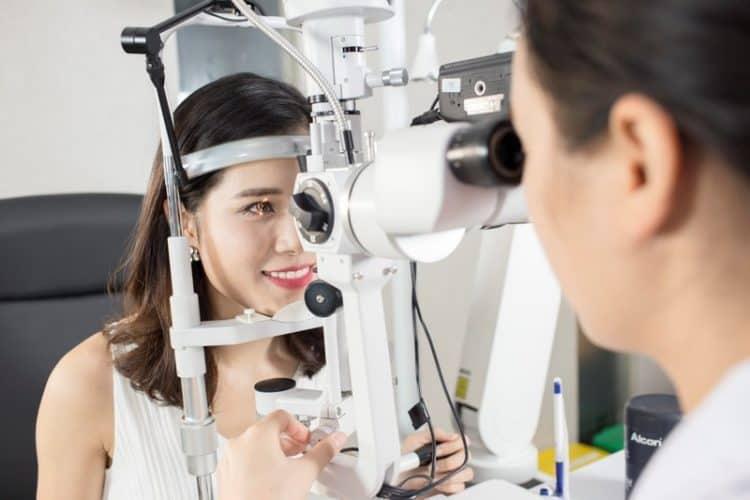 cách trị mỏi mắt