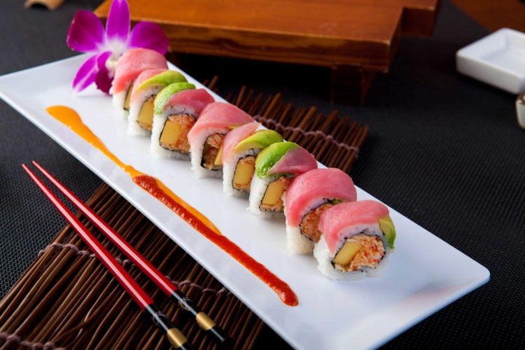 cách ăn sushi