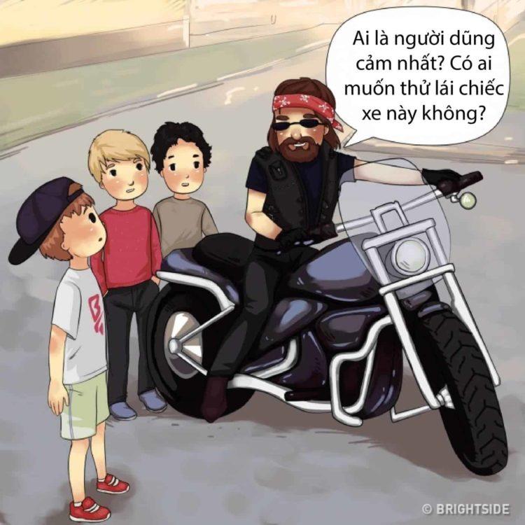 Đề nghị đi xe máy, ô tô