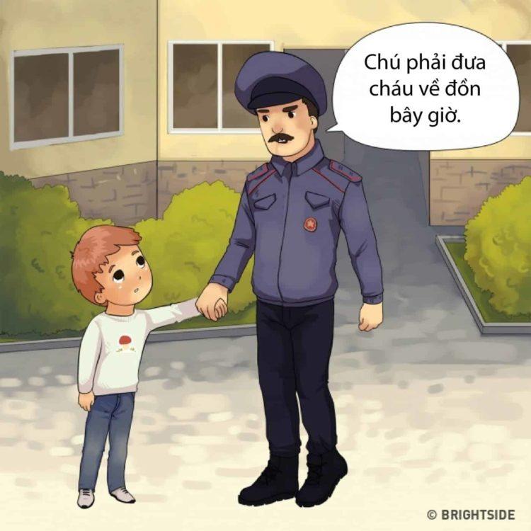 đóng giả làm cảnh sát