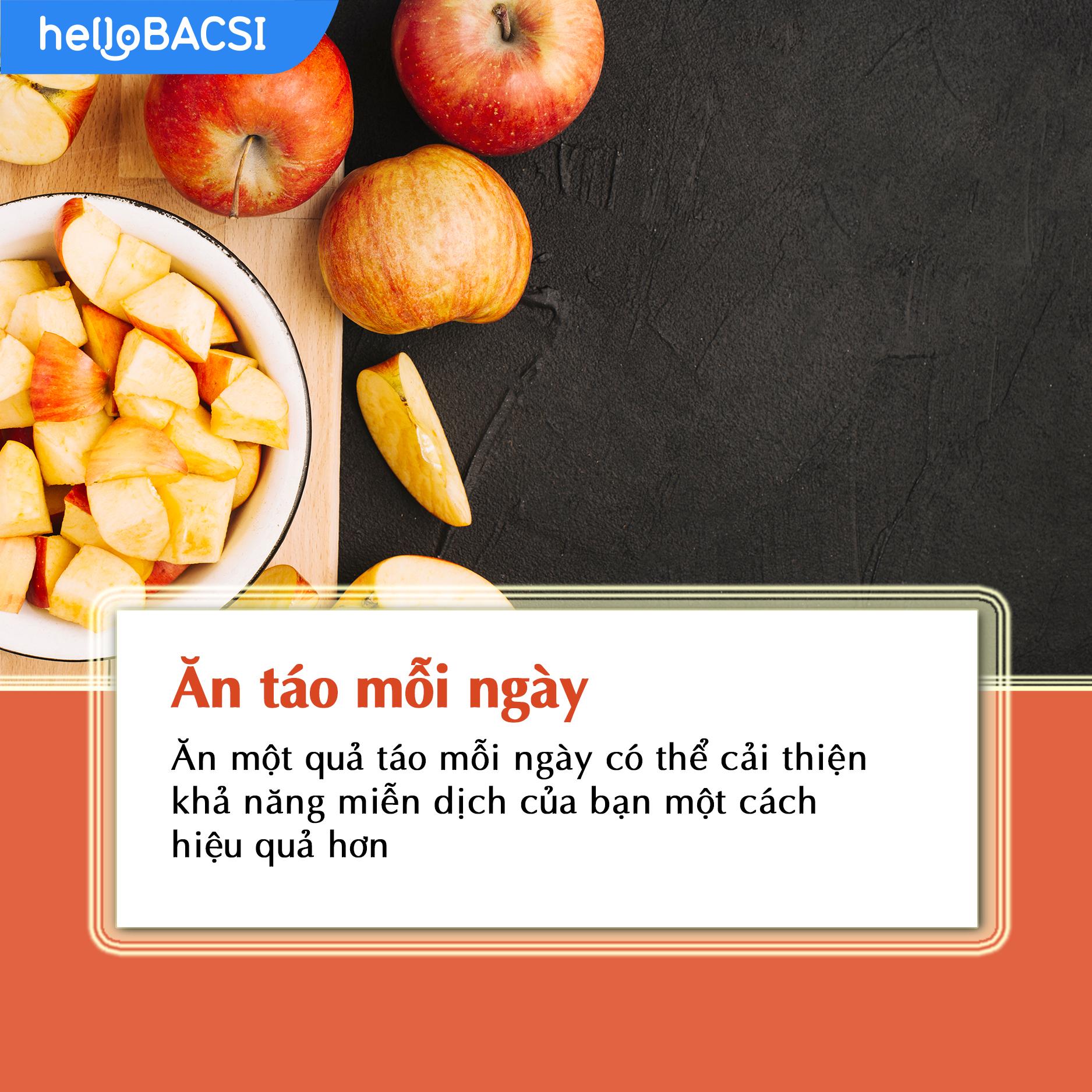 Ăn táo hàng ngày để ngăn ngừa ung thư