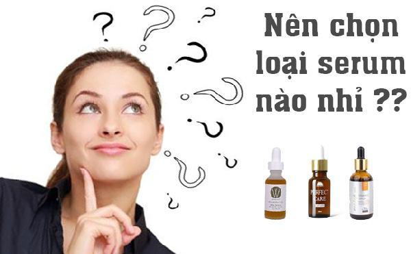 Hướng dẫn chọn mua serum phù hợp với làn da