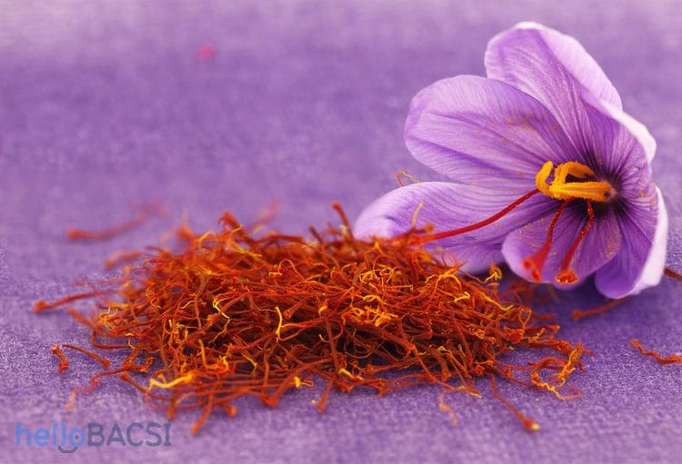Nhụy hoa nghệ tây: thảo dược cho sức khỏe và sắc đẹp